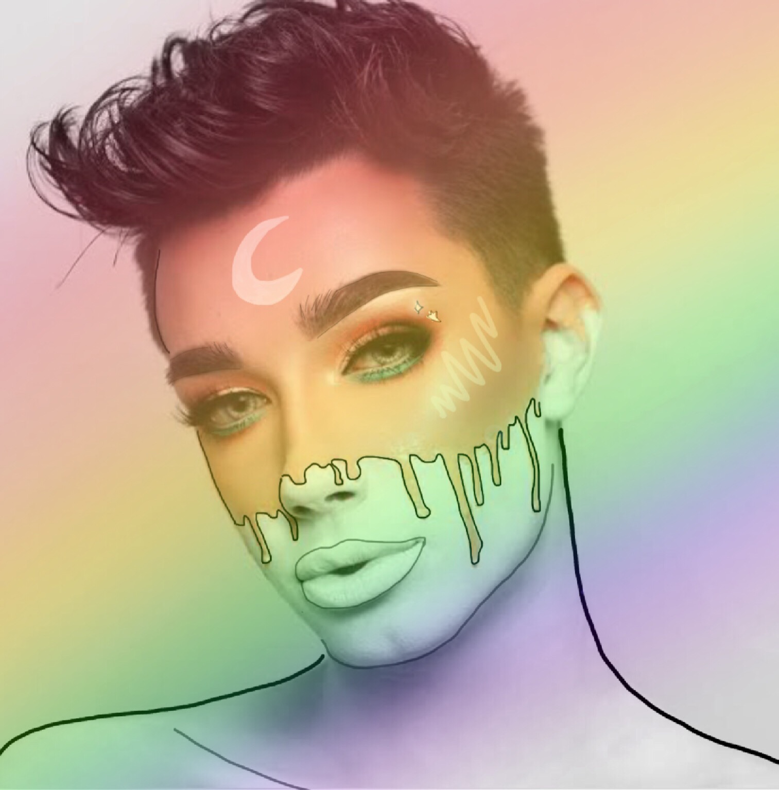 10 Pieces Of James Charles Fan Art That Will Leave You