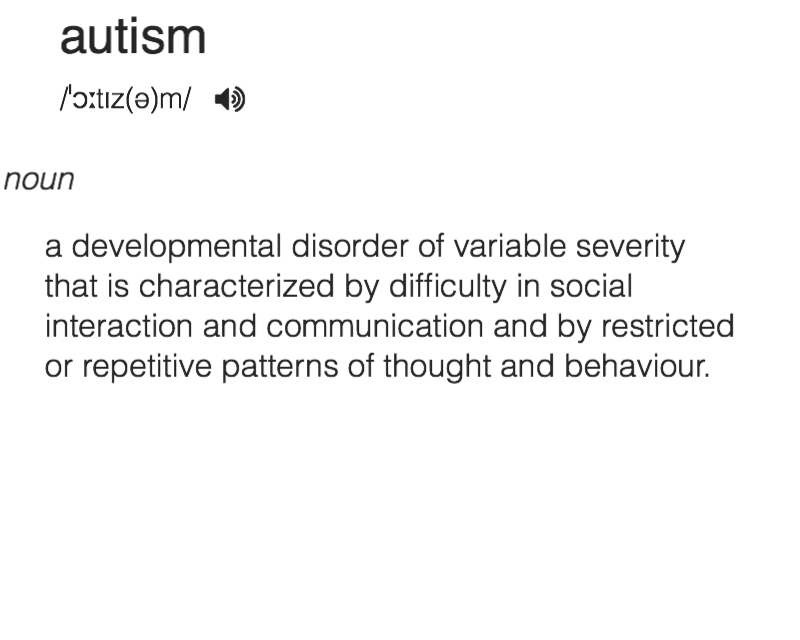 autism aesthetic tumblr description