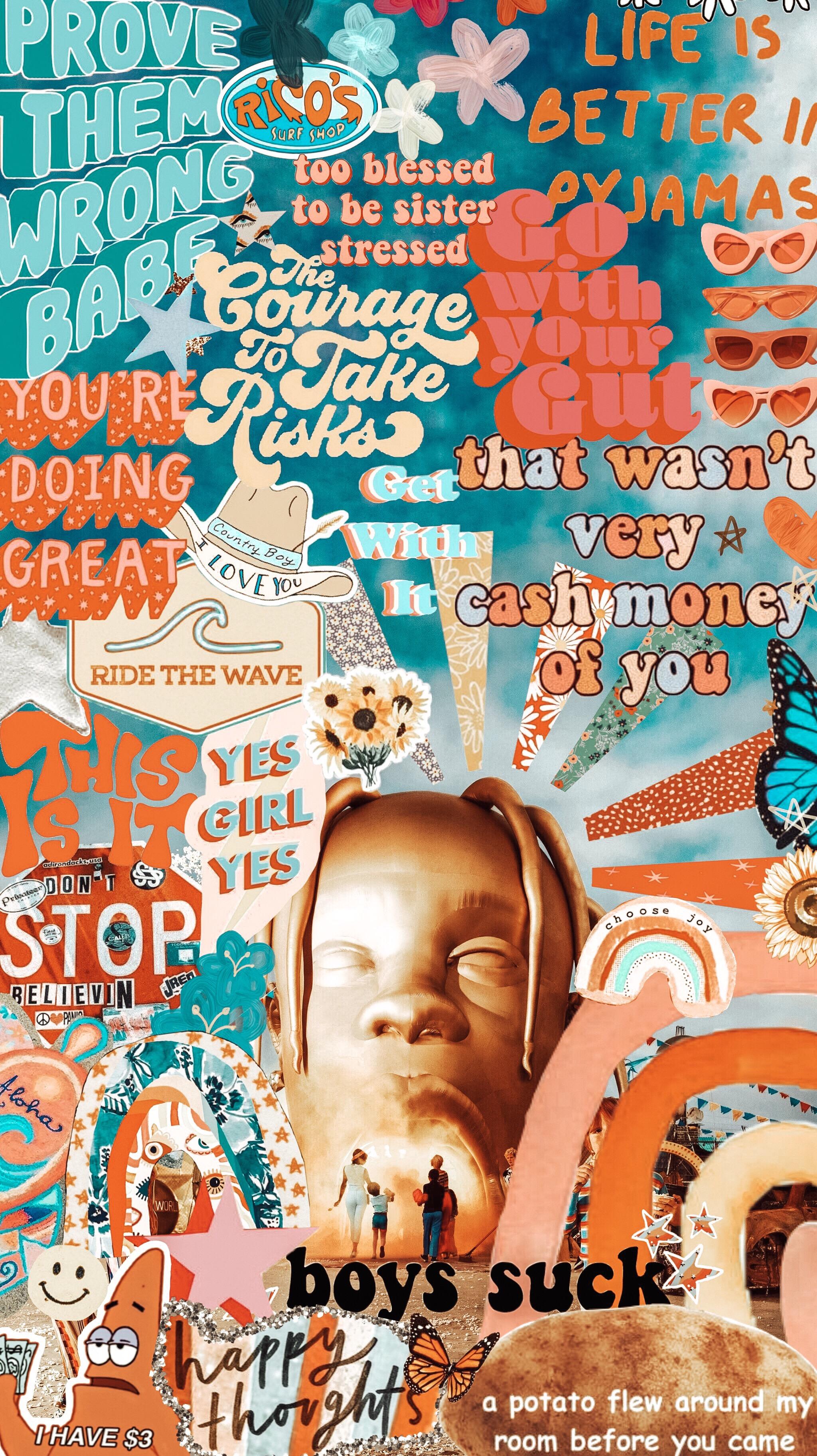 Fall Vibes Wallpaper Freetoedit Sickomode Wallpaper Vsco Cool Rap Back