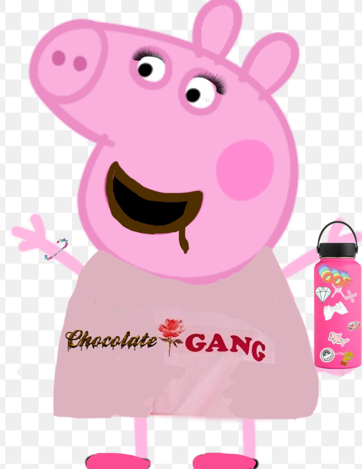 Peppa What Are You Doing In My Chocolate : peppa, doing, chocolate, Chocolate, Peppa, Image, Isabella