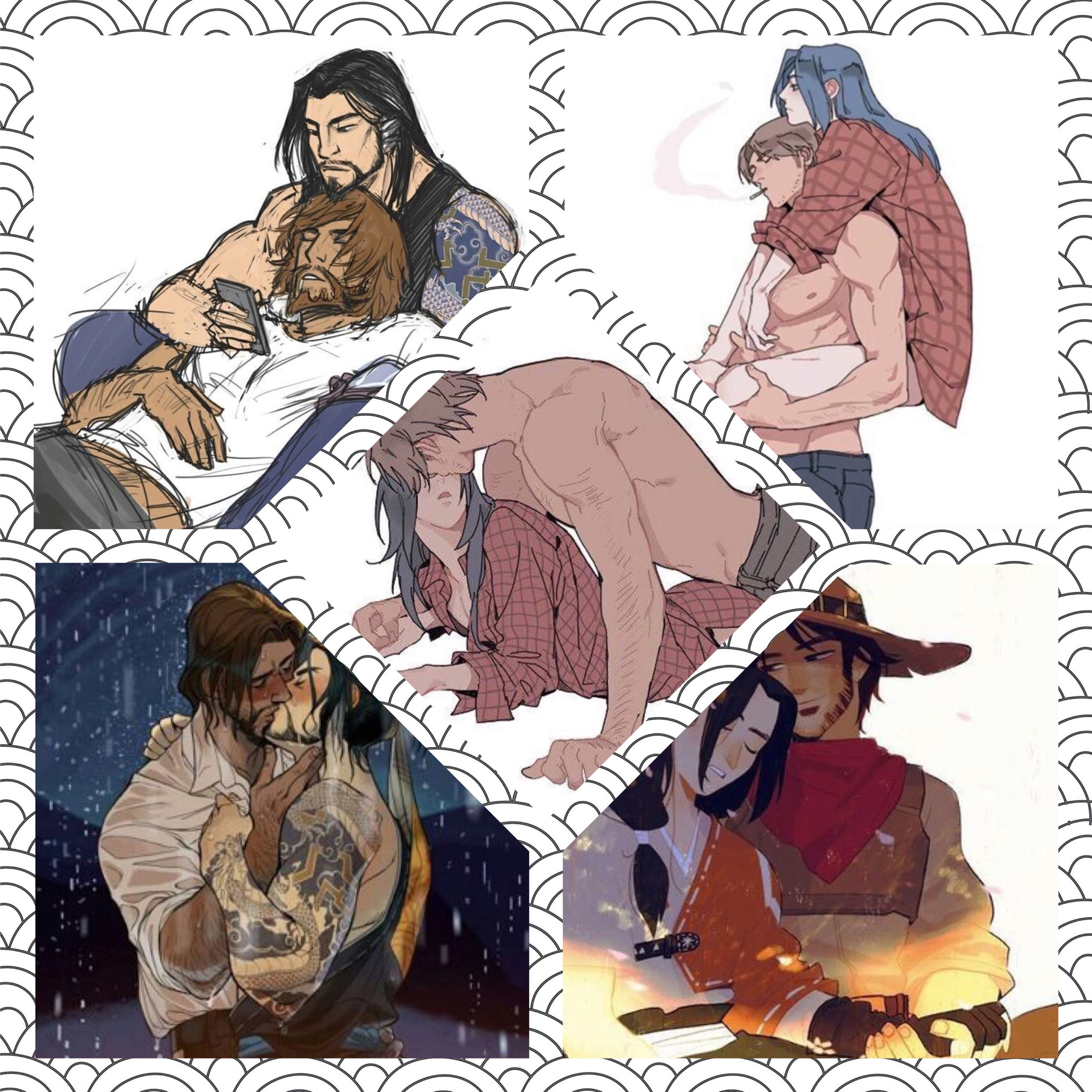 Mccree X Hanzo Overwatch Smut - Year of Clean Water
