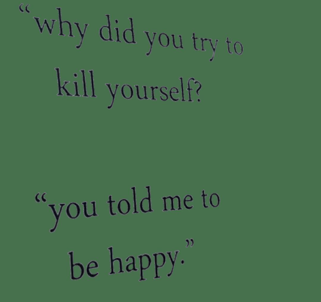 killme tumblr depression quotes...