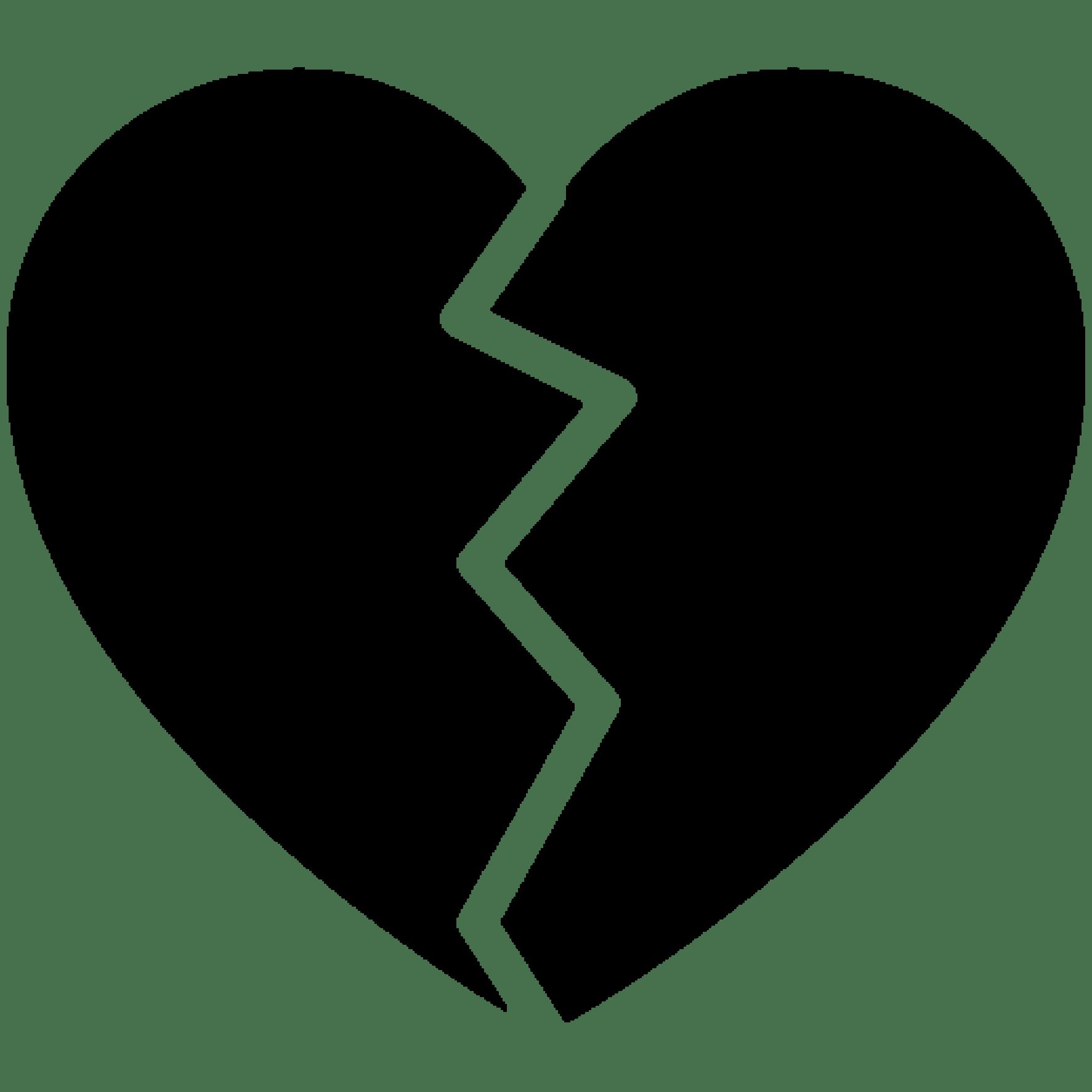 lil peep tatoo broken heart black [ 1024 x 1024 Pixel ]