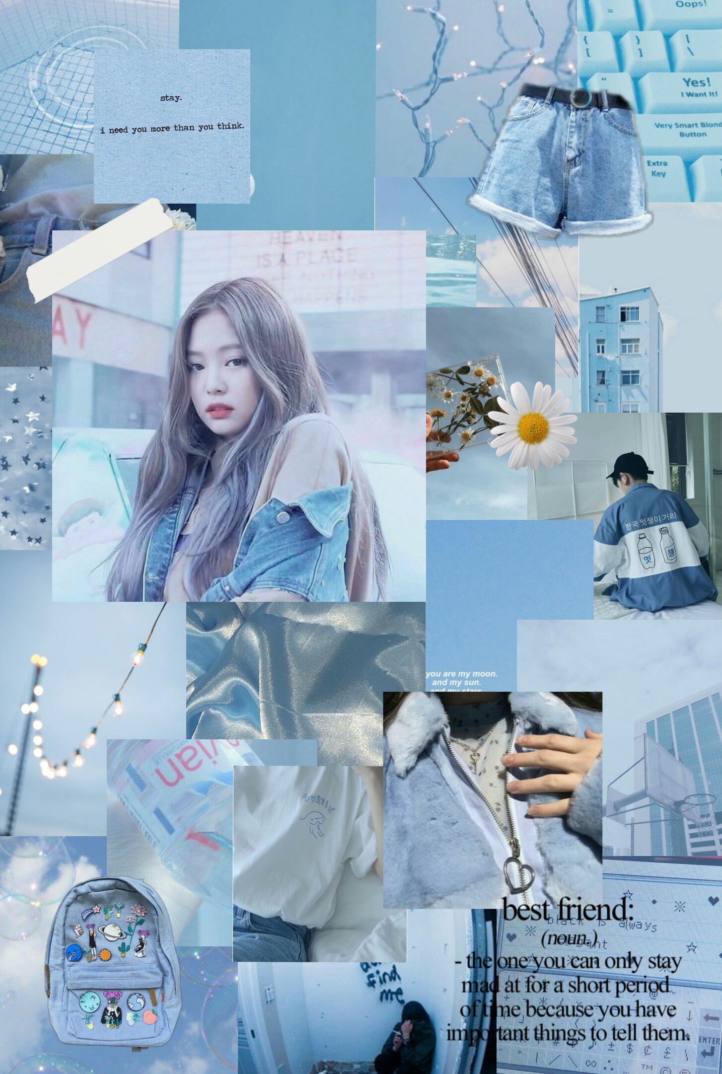 Fall Collage Wallpaper Blackpink Jennie Queen Beautiful Aesthetic Collage W