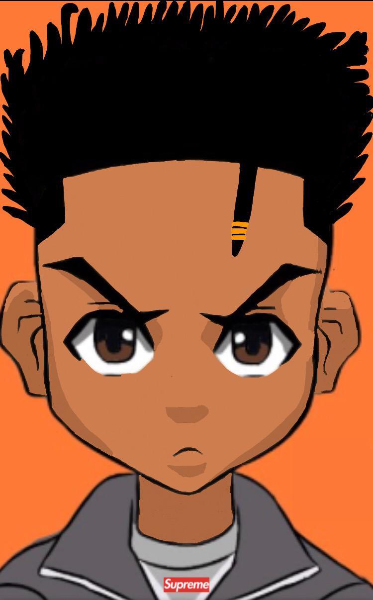 Boondocks Drawing Style : boondocks, drawing, style, Image, Editer,beat, Maker, Basketball