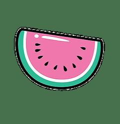 transparent kawaii watermelon pink sticker stickers save picsart