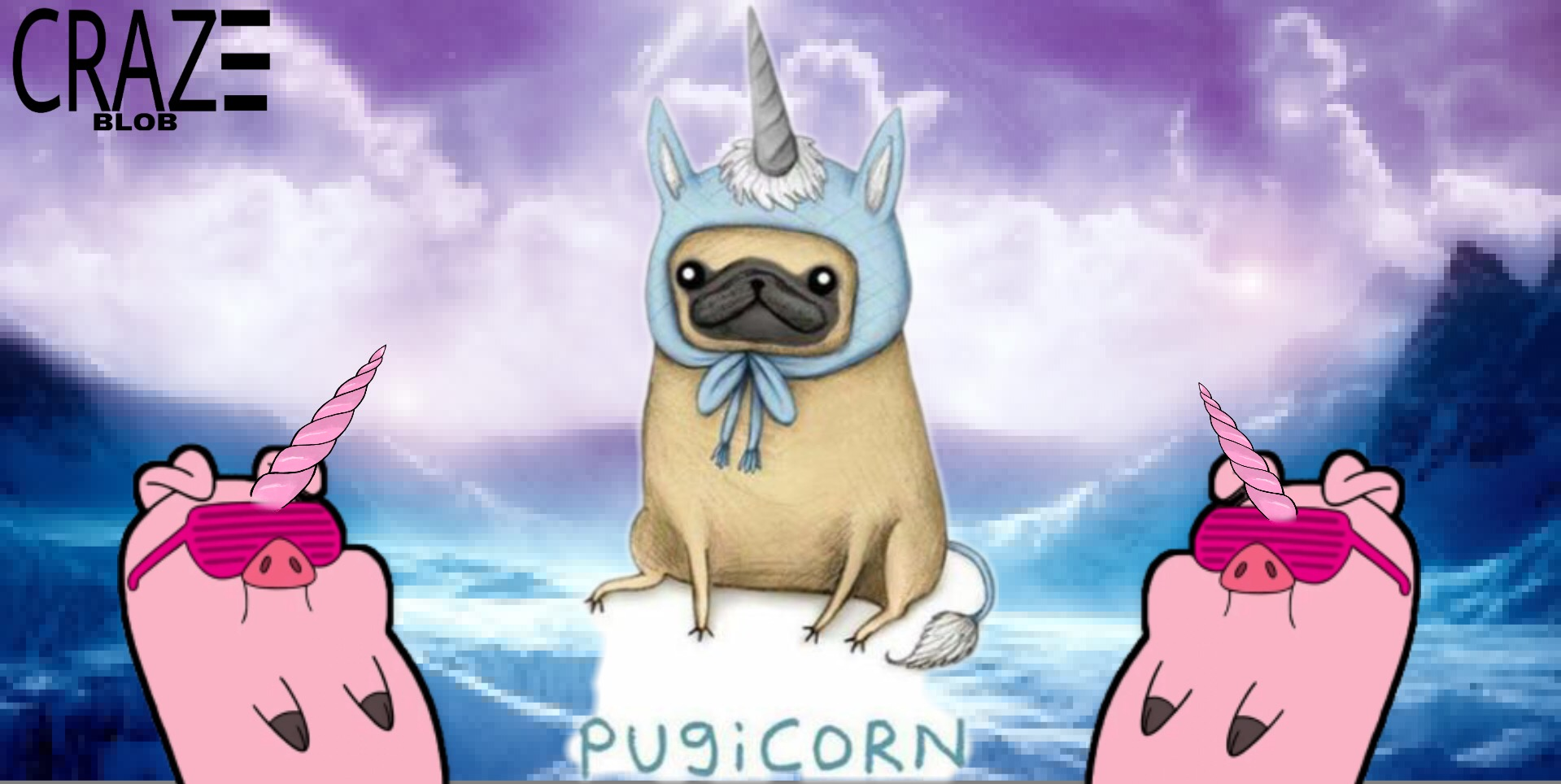1000 Awesome Pugicorn Images On PicsArt