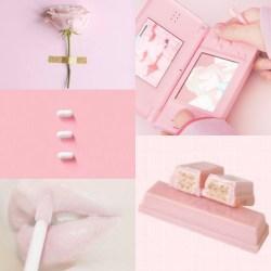 aesthetic pastel pink cute random pale sign picsart