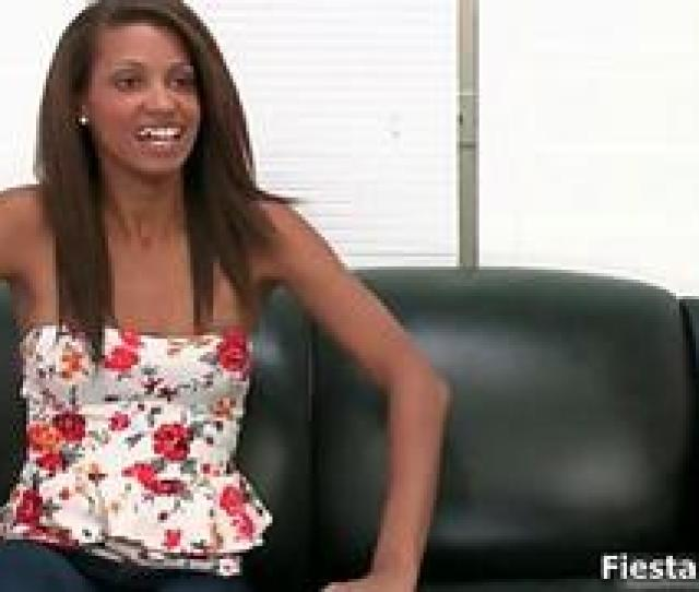 Download Hot Ebony Babe Gets Horny At The Casting Couch