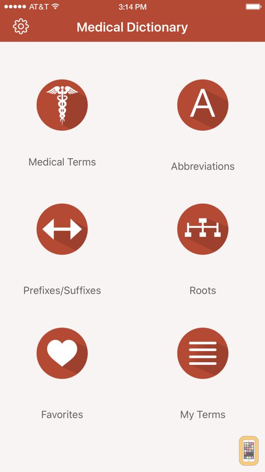 My Medical Dictionary for iPhone & iPad - App Info & Stats | iOSnoops