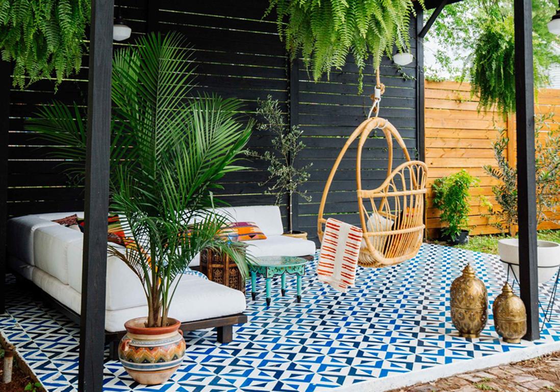 Jardin Exterieur Bambou