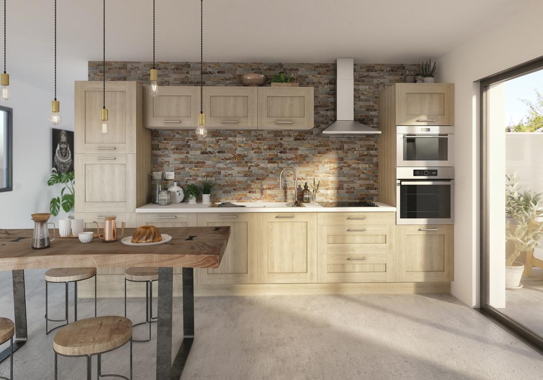 castorama cuisine sixties. Black Bedroom Furniture Sets. Home Design Ideas