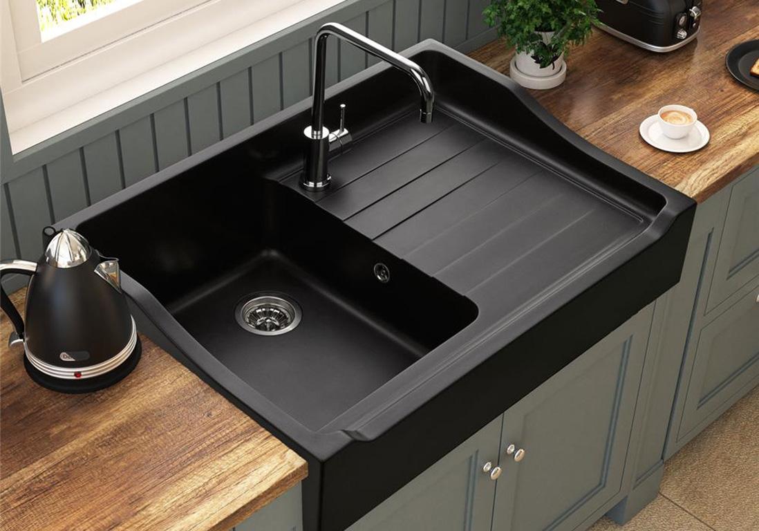 meuble de cuisine gris
