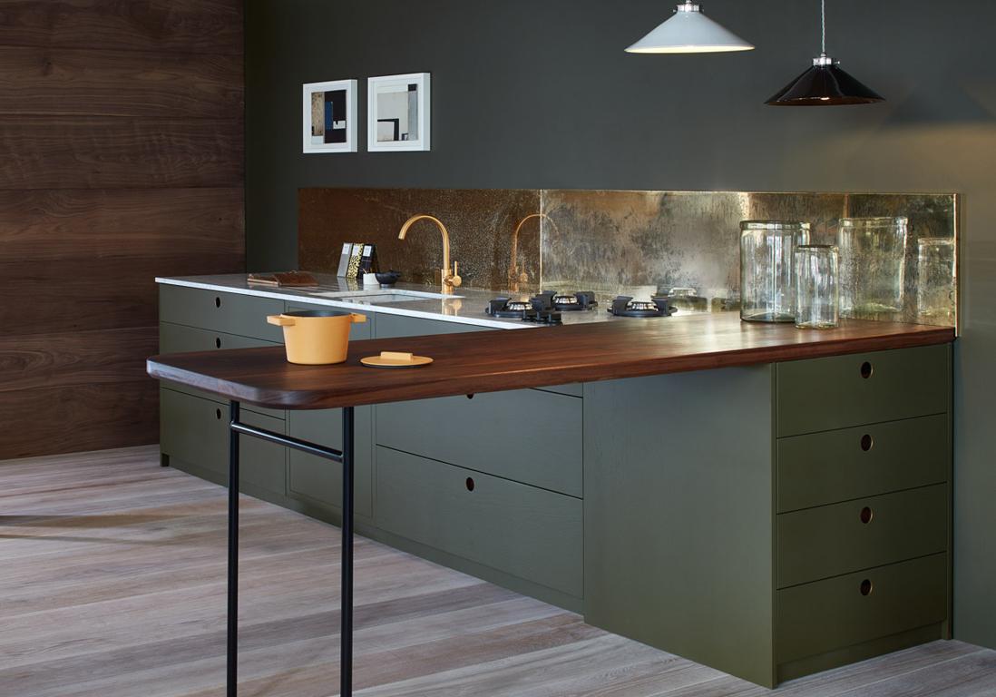 Une cuisine design pour un intrieur contemporain  Elle Dcoration