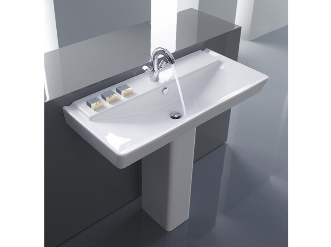 Salle de bains  12 lavabos contemporains  Elle Dcoration