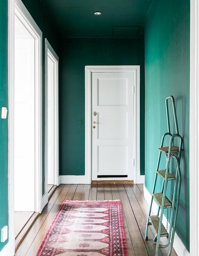 Peindre son couloir en couleur lastuce dco parfaite pour looker son intrieur  Elle Dcoration
