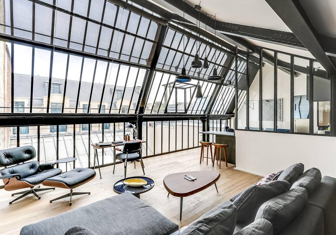 Les plus beaux appartements parisiens disponibles sur Airbnb   Elle Dcoration
