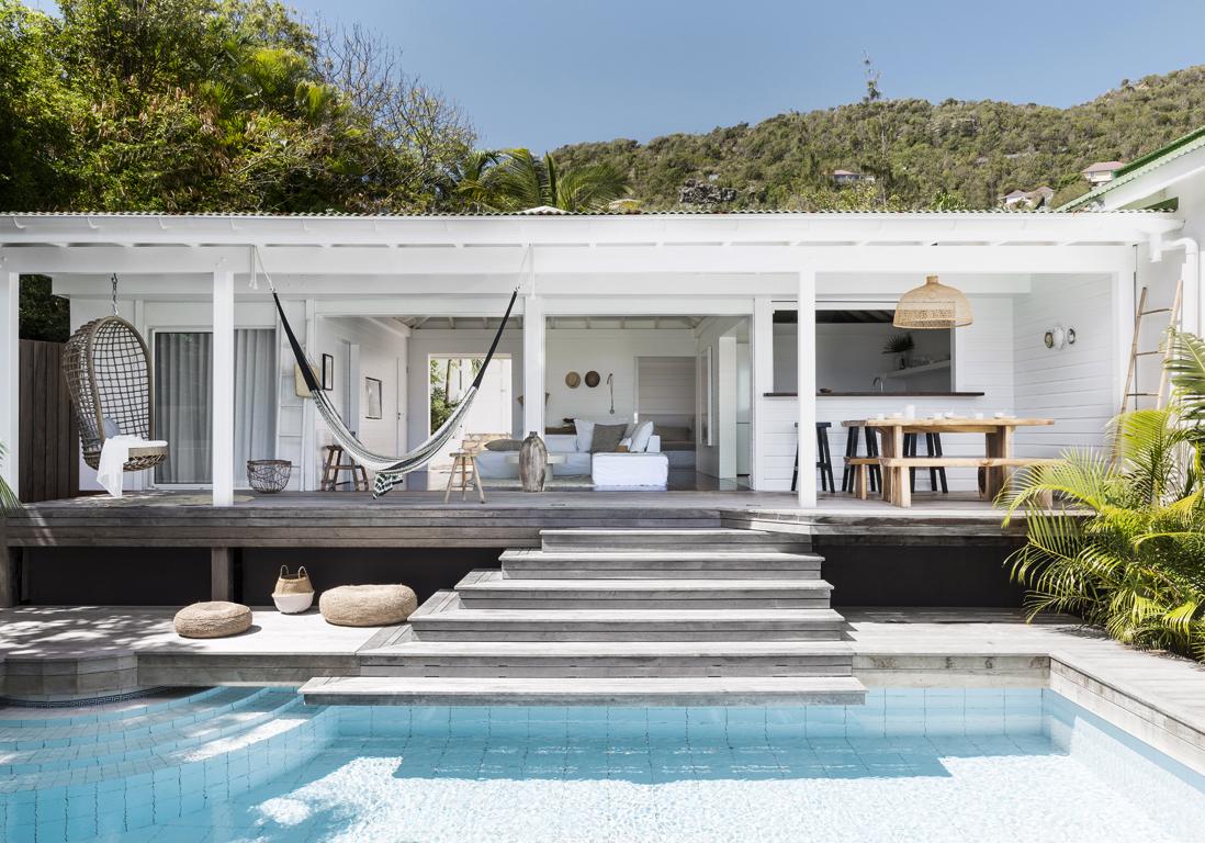 Une villa de rve  SaintBarth  Elle Dcoration