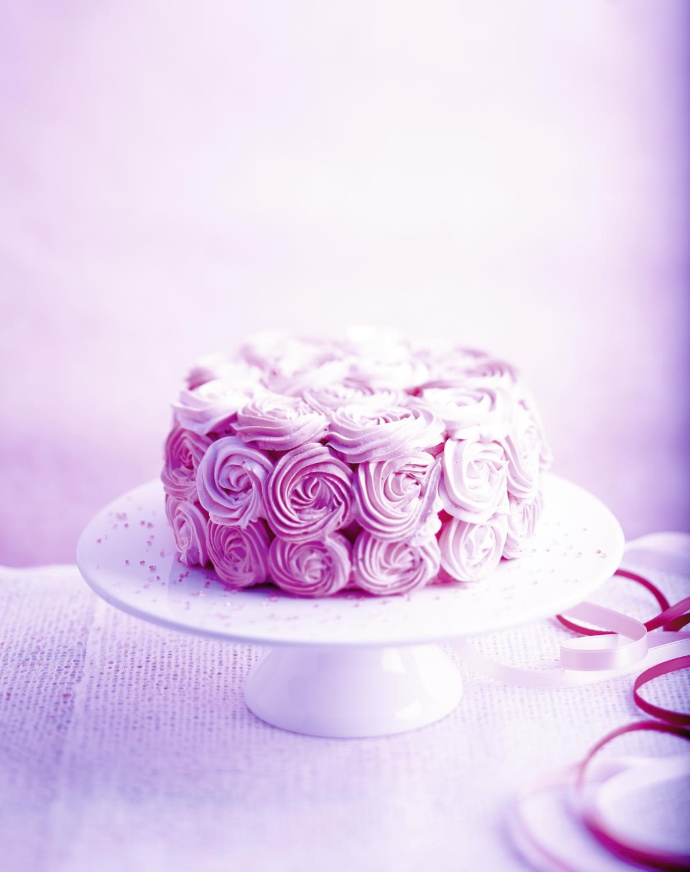 Rose Cake Pour 6 Personnes Recettes Elle Table