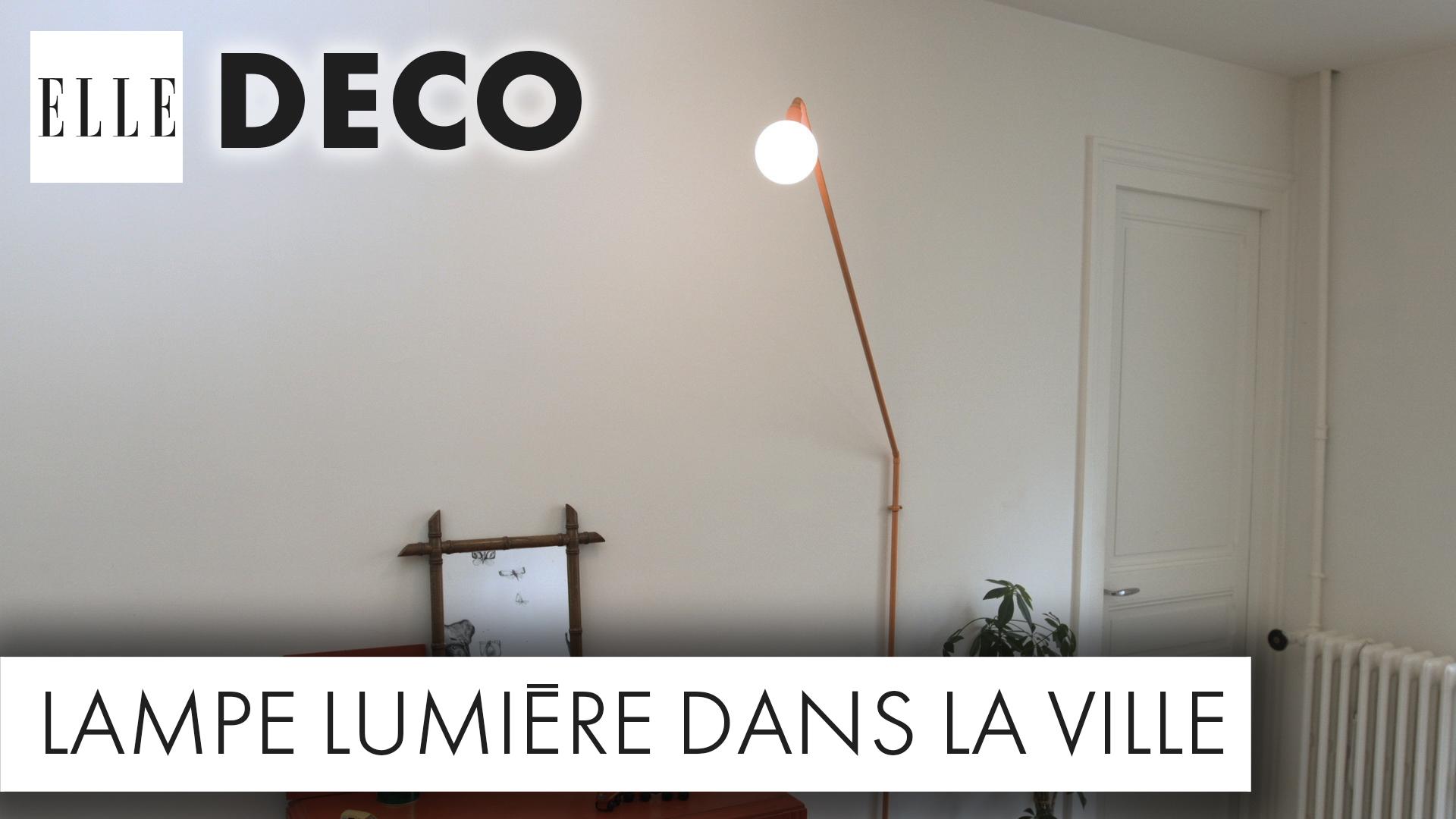 DIY Dco Un Luminaire Canon Avec Des Tuyaux En Cuivre