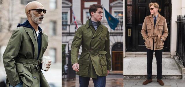 秋冬不能只記得西裝大衣!穿上「狩獵夾克 Safari Jacket 」演繹出鮮明的自我風格!   manfashion這樣變型男