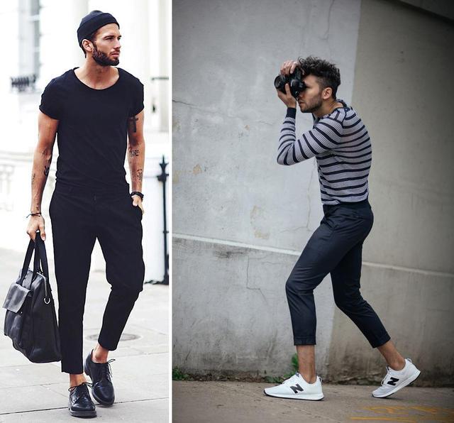 「短一點更時尚」利用九分褲穿搭。讓你直接高10公分! | manfashion這樣變型男