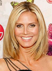 Heidi Klums Best Hairstyles Beauty Riot