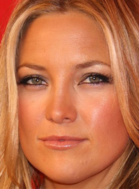 Kate Hudson bronze makeup