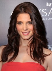 long brunette hairstyles thick
