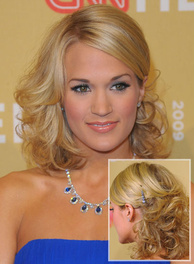 Medium Curly Hairstyles For Prom Beauty Riot