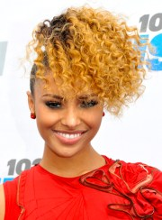 curly funky hairstyles - beauty