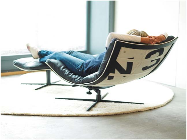 Sit Back And Design Your Own Spinnaker Lounge Chair