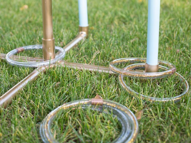 How To Make a Backyard Ring Toss Game