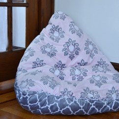No Sew Bean Bag Chair Car Covers Peppa Pig Kids Walmart Inspiration How To Make This Nosew Diy Is A Snap Fascinating