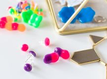 How To Make Earrings With Melted Pony Beads