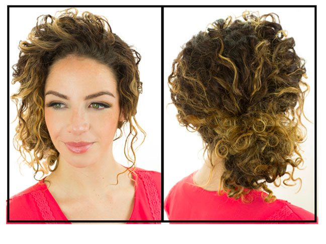 The Most Popular Quick  Easy Curly Hairstyles on Pinterest