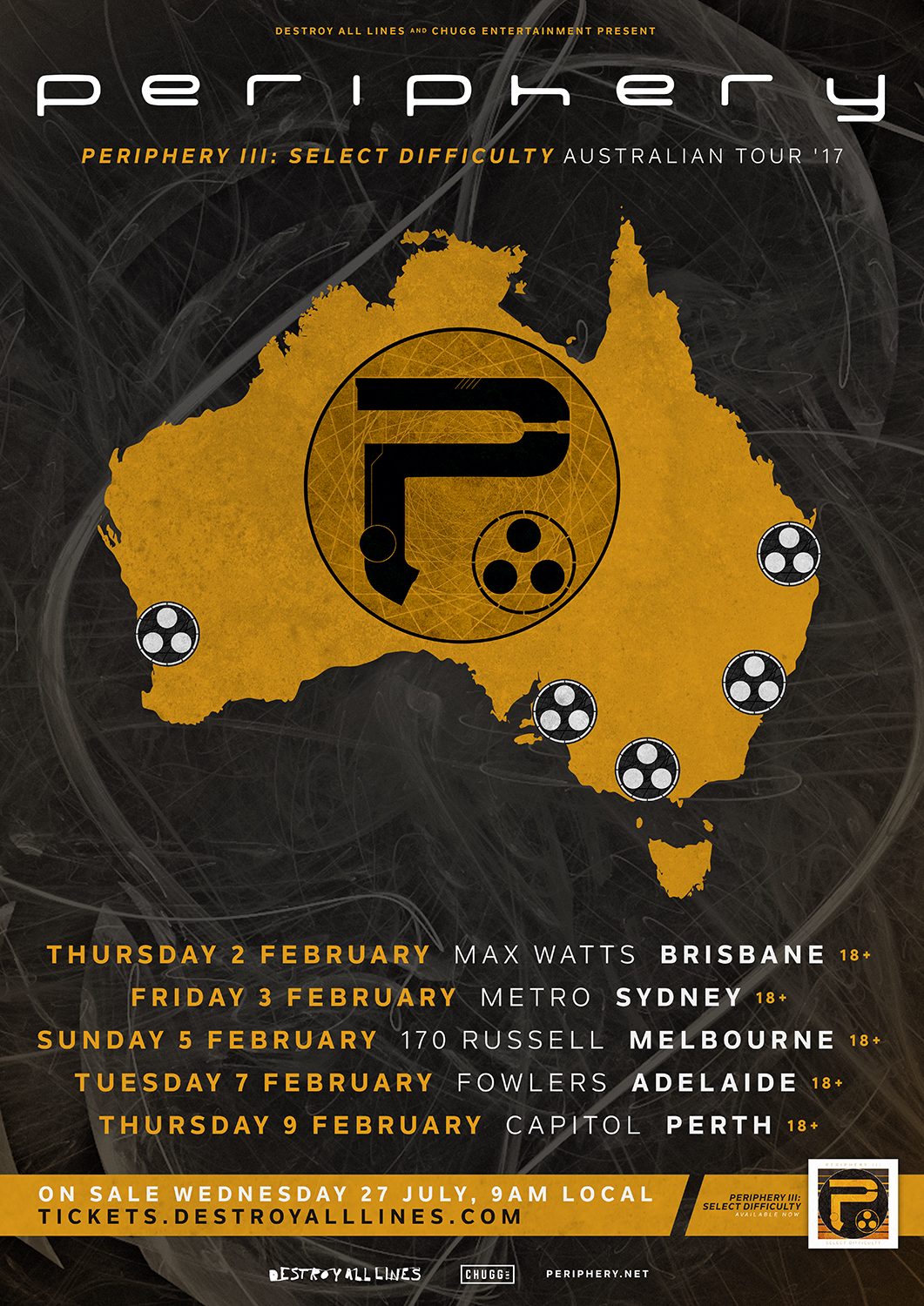 Periphery Announce Periphery III Select Difficulty Australian Tour  Music Feeds