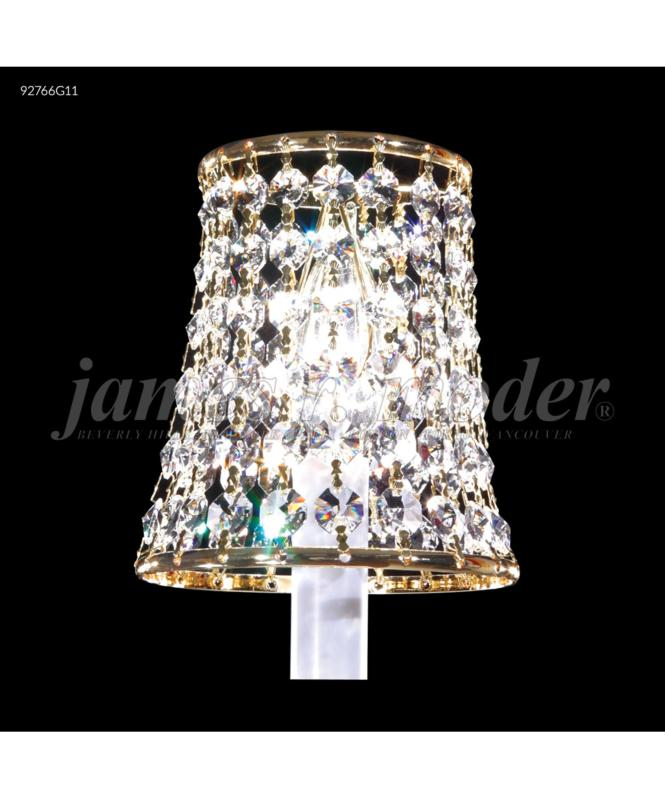 Shown In Royal Gold Finish And Spectra Swarovski Crystal
