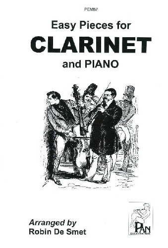 Easy Pieces For: Clarinet & Piano