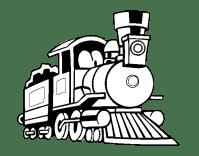 Disegni di treni a vapore