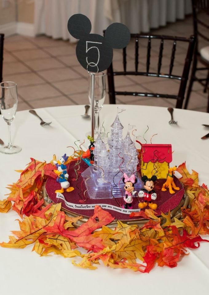 Centros de mesa para boda inspirados en Disney  ActitudFem