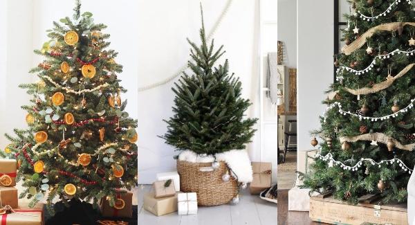 arboles de navidad 2020 tendencias arboles organicos