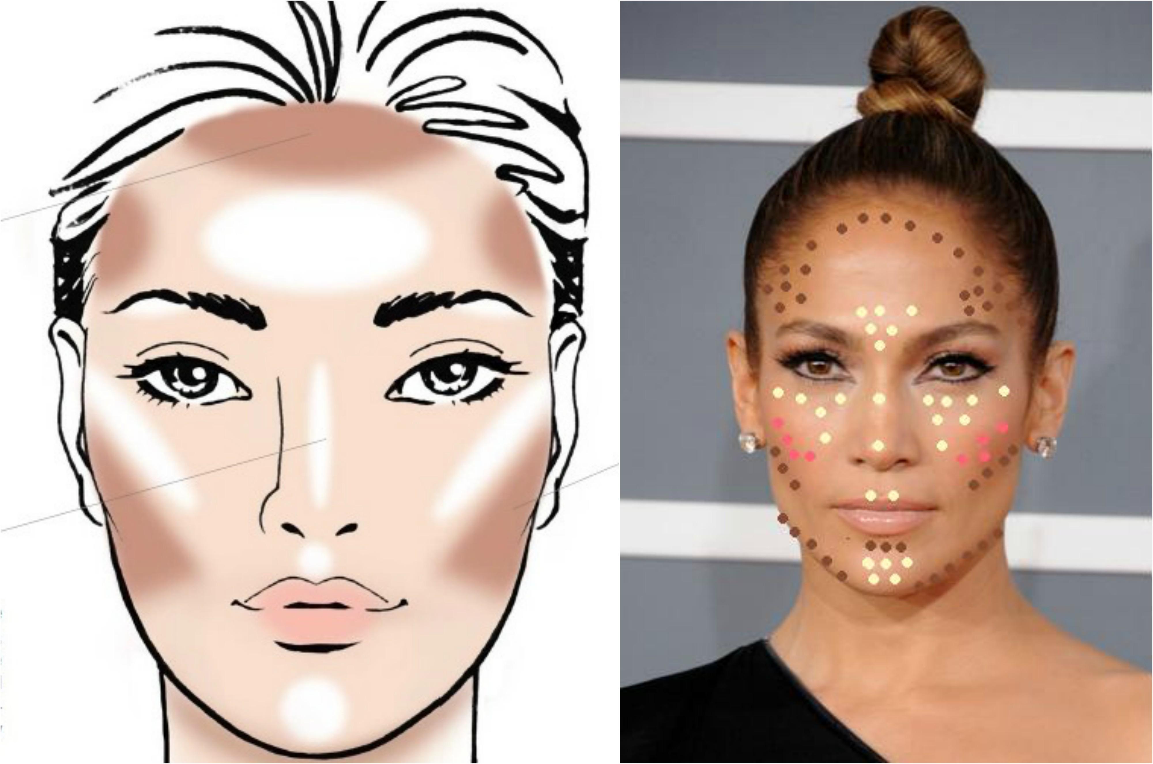 Cmo aplicar contouring de acuerdo con tu tipo de rostro