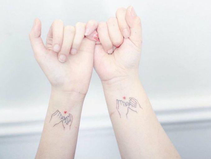 10 Tatuajes Minis Para Las Mejores Amigas Actitudfem