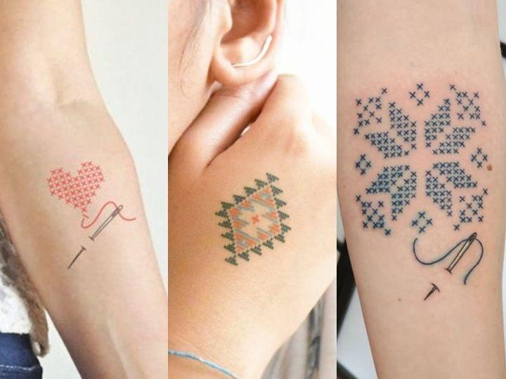 20 Tatuajes Tipo Bordado Que Querrás Hacerte Ya Actitudfem