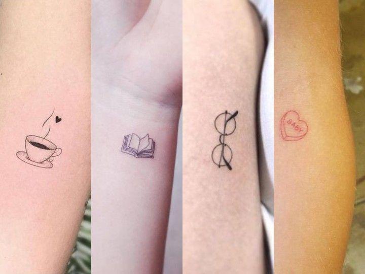 Doodle Tattoos 26 Ideas Para Cuando Te Dan Miedo Los Tatuajes Pero