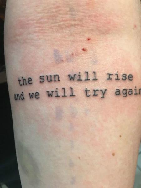 10 Tatuajes Con Frases Para Cerrar Una Etapa Importante De Tu Vida