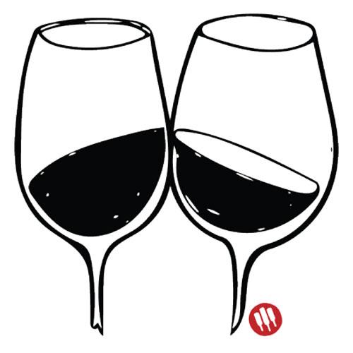 Como brindar con copas de vino