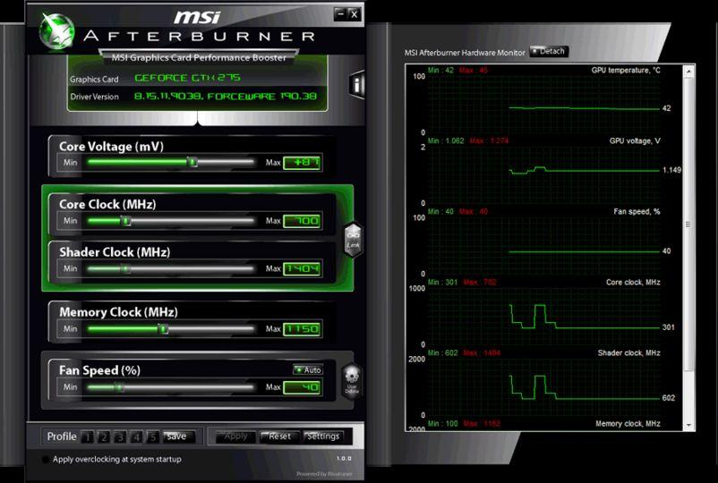 Download MSI Afterburner v4.1.0 (freeware) - AfterDawn: Software downloads