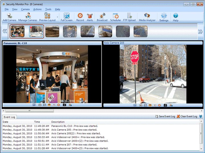 Security Alarm System Software